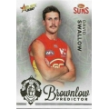 2020 Footy Stars - Gold Brownlow Predictor - D SWALLOW #087/140