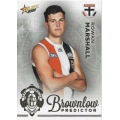 2020 Footy Stars - Gold Brownlow Predictor - R MARSHALL #091/140