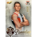 2020 Footy Stars - Gold Brownlow Predictor - S ROSS #008/140